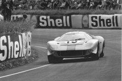 24 heures du Mans 1967 - Mirage M1 #15 - Pilotes : Jacky Ickx / Brian Muir - Abandon
