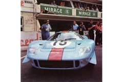 24 heures du Mans 1967 - Mirage M1 #15 - Pilotes : Jacky Ickx / Brian Muir - Abandon