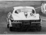 24 heures du Mans 1967 - Chevrolet Corvette Stingray 427 #9 - Pilotes : Bob Bondurant / Dick Guldstrand - Abandon