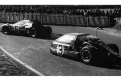 24 heures du Mans 1967 - Ford MkIV #3 - Pilotes : Mario Andretti / Lucien Bianchi - Abandon