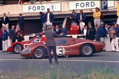24 heures du Mans 1967 - Ford MkIV #3 - Pilotes : Mario Andretti / Lucien Bianchi - Abandon
