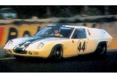 24 heures du Mans 1967 - Lotus 47 Europe #44- Pilotes : John Wagstaff / David Preston - Abandon
