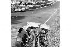 24 heures du Mans 1967 - Porsche 910 #38 - Pilotes : Rolf Stommelen / Johen Neerpasch - 6ème