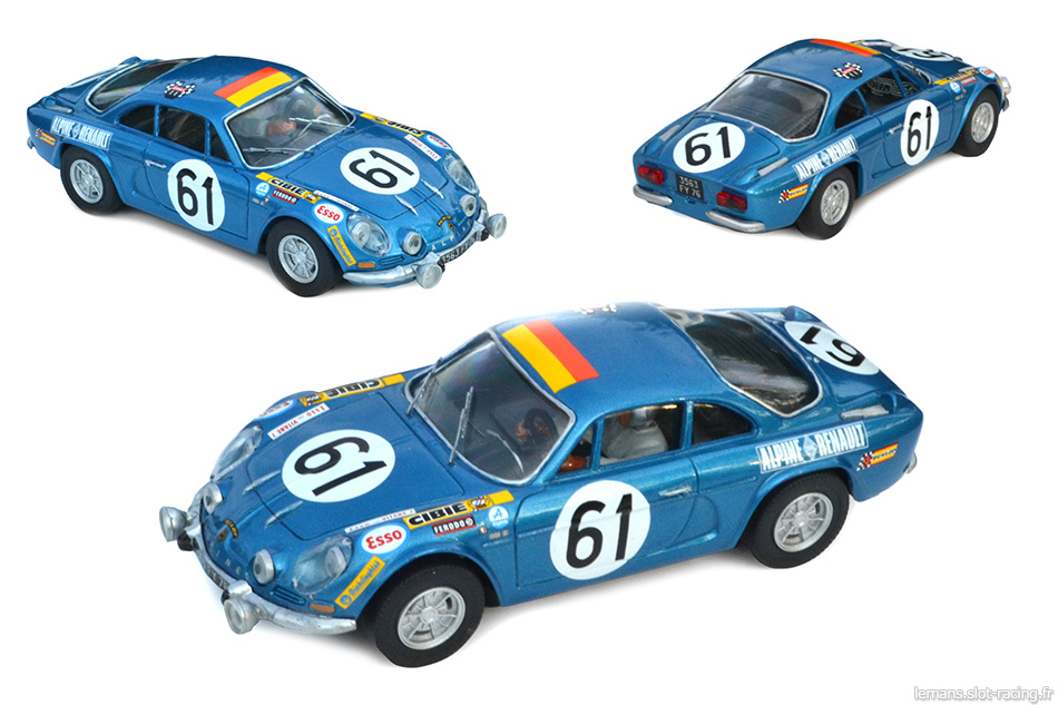 alpine a110 srt 61 24 heures du mans 1968. Black Bedroom Furniture Sets. Home Design Ideas