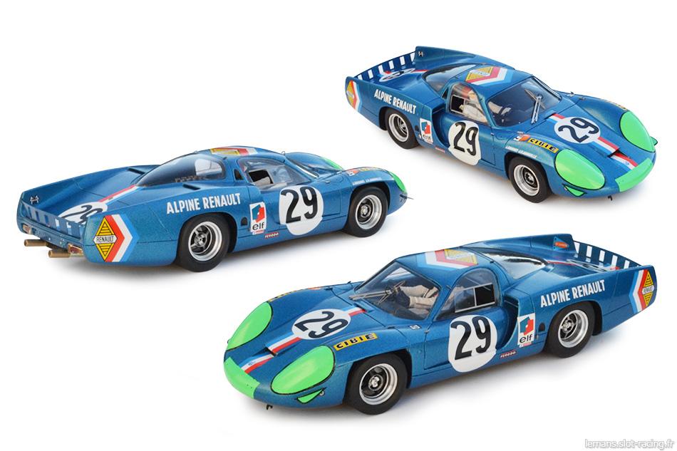 slot de grenier :: L'Alpine A220 Le Mans Miniatures n°29 Le