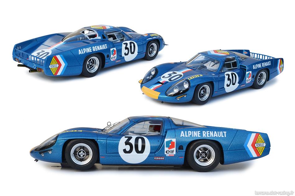 slot de grenier :: L'Alpine A220 Le Mans Miniatures n°30 des