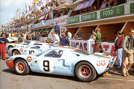 Ford Gt40 Le Mans Winner 1968