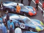 24 heures du Mans 1968 - Alpine A220 #29 - Pilotes : Jean Guichet / Jean Pierre Jabouille - Abandon