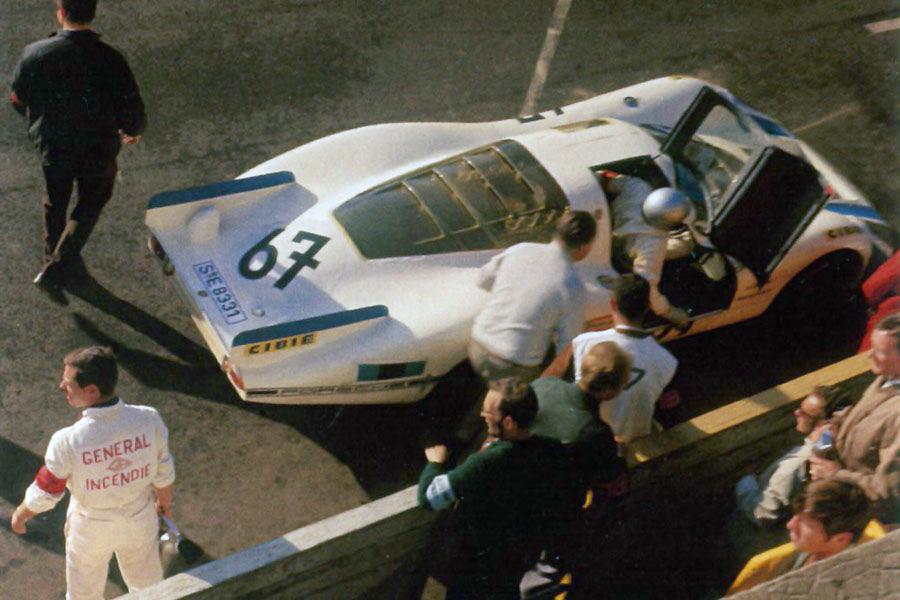 Porsche 907 Slot Racing Company 67 24 Heures Du Mans 1968