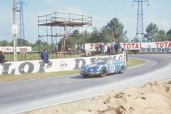 24 heures du Mans 1968 - Alpine A110 #61 - Pilotes : Joseph Bourdon / Maurice Nusbaumer - non classé