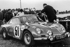 24 heures du Mans 1968 - Alpine A110 #51 - Pilotes : Bernard Collomb / Francois Lacarreau - Non classé