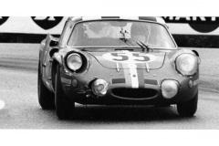24 heures du Mans 1968 - Alpine A210 #55 - Pilotes : Jean-Claude Andruet / Jean-Pierre Nicolas - 14ème