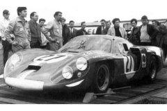 24 heures du Mans 1968 - Alpine A220 #27 - Pilotes :Mauro Bianchi / Patrick Depailler - Abandon