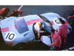 24 heures du Mans 1968 - Ford GT40 #10 - Pilotes : Paul Hawkins / David Hobbs - Abandon