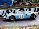 24 heures du Mans 1968 - Ford GT40 #11 - Pilotes : Brian Muir / Jackie Oliver - Abandon