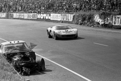 24 heures du Mans 1968 - Ford GT40 #9 - Pilotes : Pedro Rodriguez / Lucien Bianchi - 1er