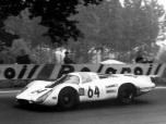 24 heures du Mans 1969 - Porsche 908 #64- Pilotes : Gérard Larrousse / Hans Herrmann - 2ème