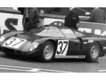 24 heures du Mans 1969 - Healey Climax #37 - Pilotes : Clive Baker / Jeff Harris - Abandon