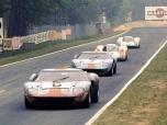 24 heures du Mans 1969 - Ford GT40 #7 - Pilotes : David Hobbs / Mike Hailwood - 3ème