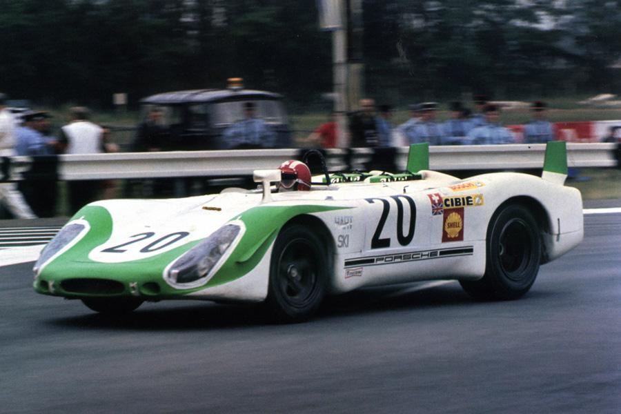 Porsche 908 02 Fly 20 24 Heures Du Mans 1969