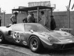 24 heures du Mans 1969 - Ford GT40 #58 - Pilotes : Dominique Martin / Jean-Pierre Hanrioud - Non partante