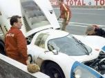 24 heures du Mans 1969 - Porsche 917 #12 - Pilotes : Vic Elford / Richard Attwood - Abandon