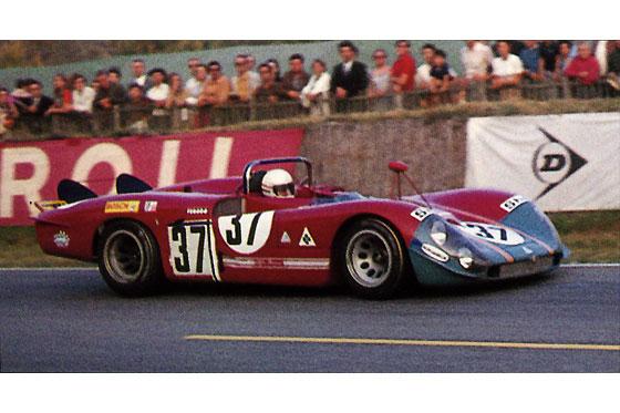 Alfa rom o t33 3 racer 37 24 heures du mans 1970 for Catalogue ets leger le mans