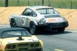24 heures du Mans 1970 - Porsche 911S #67 - Pilotes : Jacques Dechaumel / Jean-Claude Parot - Non classé