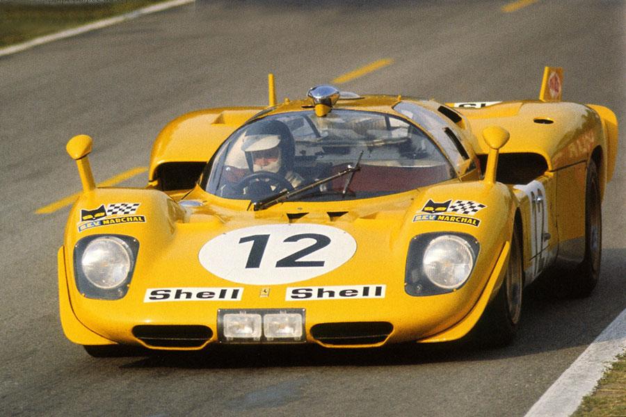 Ferrari 512s Fly 12 24 Heures Du Mans 1970