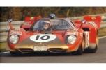 24 heures du Mans 1970 - Ferrari 512S #10 - Pilotes : Helmut Kelleners / Georg Loos - Abandon