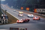 24 heures du Mans 1970 - Ferrari 512S #6- Pilotes : Ignazio Giunti / Nino Vaccarella - Abandon24 heures du Mans 1970 - Ferrari 512S #6- Pilotes : Ignazio Giunti / Nino Vaccarella - Abandon