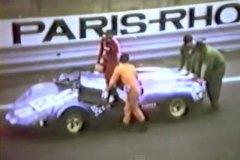 24 heures du Mans 1970 - Porsche 910 #60- Pilotes : Willy Meier / Daniel Rouveyran - Abandon