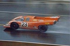 24 heures du Mans 1970 - Porsche 917K #23- Pilotes : Hans Herrmann / Richard Attwood - 1er24 heures du Mans 1970 - Porsche 917K #23- Pilotes : Hans Herrmann / Richard Attwood - 1er