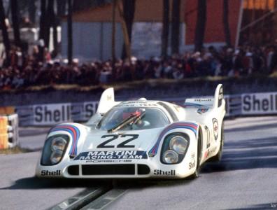 24 heures du Mans 1971 - Porsche 917K #22 - Pilotes : Helmut Marko / Gys van Lennep - 1er