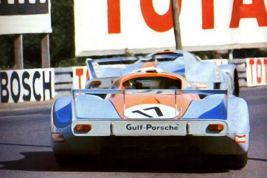 Porsche 917 Fly 17 24 Heures Du Mans 1971