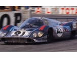 24 heures du Mans 1971 - Porsche 917 #21 - Pilotes : Vic Elford / Gérard Larrousse - Abandon