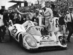 24 heures du Mans 1971 - Porsche 917K #22- Pilotes : Helmut Marko / Gys van Lennep - 1er