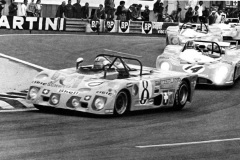 24 heures du Mans 1972 - Lola T280 #8 - Pilotes : Jo Bonnier / Gerard Larrousse / Gijs van Lennep - Abandon
