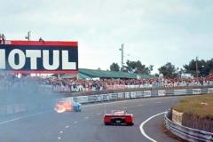 24 heures du Mans 1972 - Matra 670 #12 - Pilotes : Jean-Pierre Beltoise / Chris Amon - Abandon