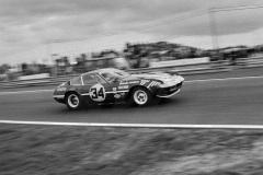 24 heures du Mans 1972 - Ferrari 365 GTB4 #34 - Pilotes : Mike Parkes / Jean-Louis Lafosse / Jean-Jacques Cochet - 7ème