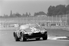 24 heures du Mans 1972 - Ferrari 365 GTB4 #38 - Pilotes : Jean-Pierre Jarier / Claude Buchet - 9ème