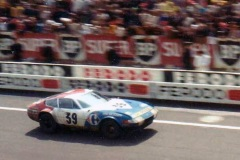 24 heures du Mans 1972 - Ferrari 365 GTB4 #39 - Pilotes : Jean-Claude Andruet / Claude Ballot-Léna - 5ème2