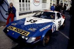24 heures du Mans 1972 - Ferrari 365 GTB4 #39 - Pilotes : Jean-Claude Andruet / Claude Ballot-Léna - 5èmeferrari-375GTB4-39-LM72-20