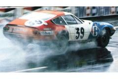 24 heures du Mans 1972 - Ferrari 365 GTB4 #39 - Pilotes : Jean-Claude Andruet / Claude Ballot-Léna - 5ème