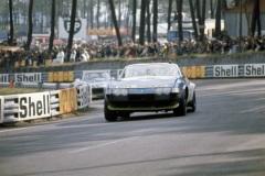 24 heures du Mans 1972 - Ferrari 365 GTB4 #75 - Pilotes : Francois Migault / Daniel Rouveyran - Abandon