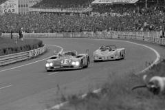24 heures du Mans 1972 - Lola T280 #7 - Pilotes : Hughes de Fierlandt, Mario Araujo Cabral /  Jorge de Bragation - Abandon