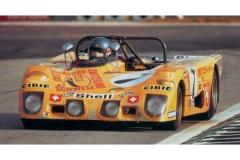 24 heures du Mans 1972 - Lola T280 #7 - Pilotes : Hughes de Fierlandt / Mario Araujo Cabral / Jorge de Bragation - Abandon