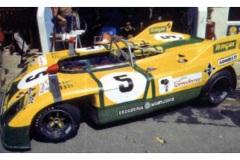 24 heures du Mans 1972 - Porsche 908/03 #5 - Pilotes : Juan Fernandez / Francesco Torredemer / Eugenio Baturone - Abandon