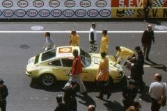 24 heures du Mans 1972 - Porsche 911S #41 - Michael Keyser / Jurgen Barth / Sylvain Garant - 13ème