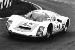 24 heures du Mans 1968 - Porsche 906 #42 - Pilotes : Christian Poirot / Pierre Maublanc - Disqualification